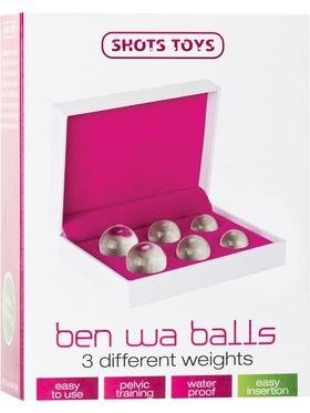 Shots Toys: Ben Wa Balls Set, glas