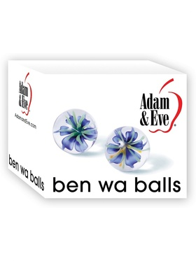 Adam & Eve: Glass Ben Wa Balls