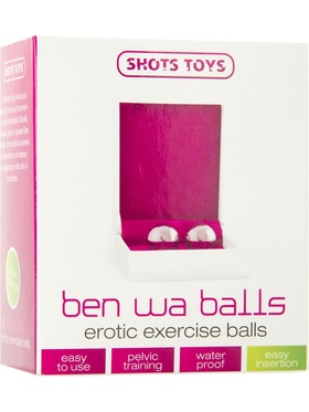 Shots Toys: Ben Wa Balls, Erotic Exercise, silver