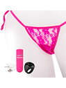 Screaming O: Rechargeable Vibrating Panty Set, rosa