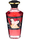 Shunga: Aphrodisiac Warming Oil, Sparkling Strawberry Wine, 100 ml