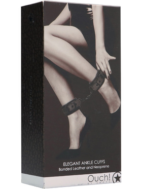 Ouch!: Elegant Ankle Cuffs, titangrå