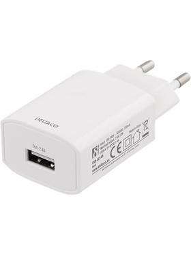 USB Väggladdare, 2.4A