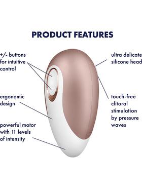 Satisfyer: Satisfyer Deluxe, Air Pulse Stimulator