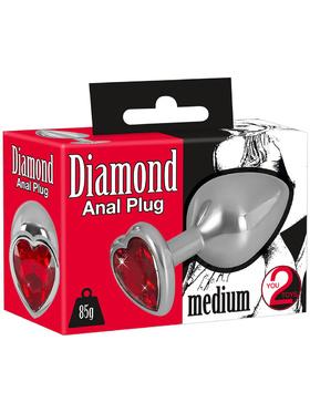 You2Toys: Diamond Anal Plug, medium