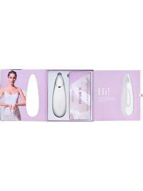 Womanizer: Premium, vit/silver