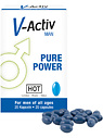 Hot: V-Activ Man, Pure Power, 20 tabletter