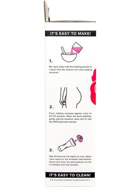 Clone-A-Pussy: Molding + Sleeve Kit, rosa