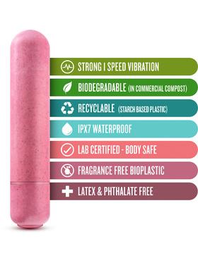 Blush: Gaia, Eco Vibrator, rosa