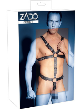 ZADO: Strap Body Harness with Ring