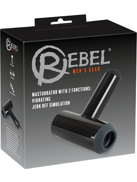 Rebel: Masturbator with Vibrating & Jerk Off Simulation
