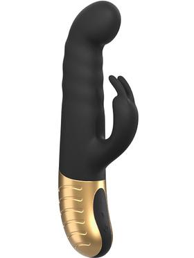 Marc Dorcel: G-Stormer, Thrusting Rabbit Vibrator, svart & guld
