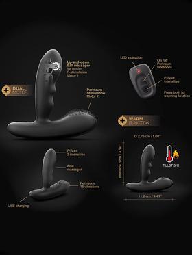 Marc Dorcel: P-Stropker, Remote Control Prostate Massager, svart