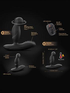 Marc Dorcel: P-Swing, Remote Control Prostate Massager, svart