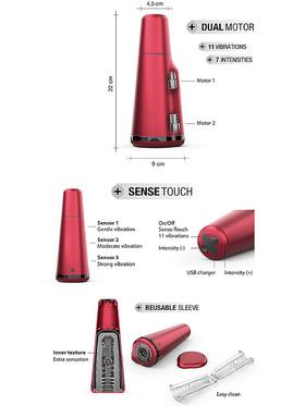 Marc Dorcel: Deep Sense, Reusable Sense-Touch Masturbator