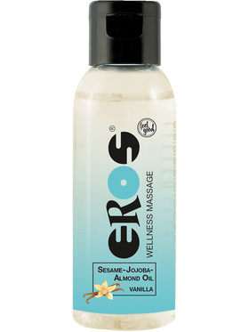Eros: Wellness Massage, Sesame-Jojoba-Almond Oil Vanilla, 50 ml