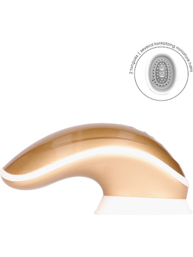 Innovation: Twitch, Hands-Free Suction & Vibration Toy, guld