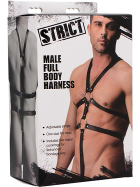 Strict: Male Full Body Harness