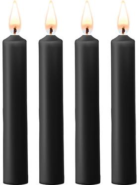 Ouch!: Teasing Wax Candles, 4-pack, svart