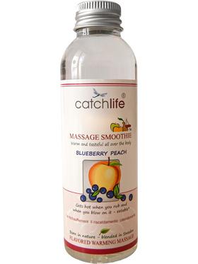 Catchlife: Massage Smoothie, Blåbär & Persika, 75 ml